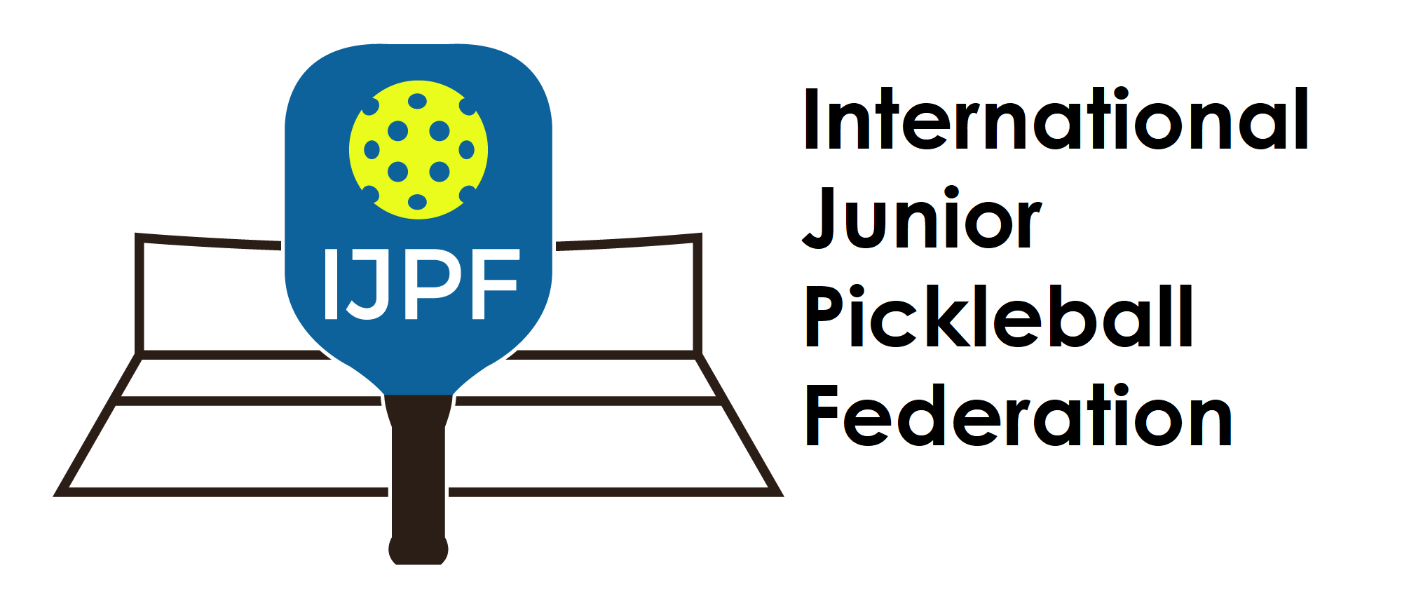 Logo for International Junior Pickleball Federation